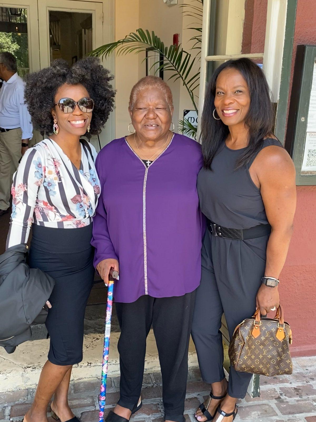 Grams 73rd Birthday New Orleans - Happy Black Woman
