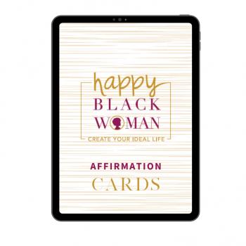 Happy Black Woman Affirmations