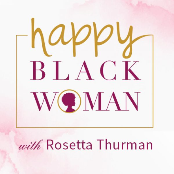 Happy Black Woman FB Group Square Image